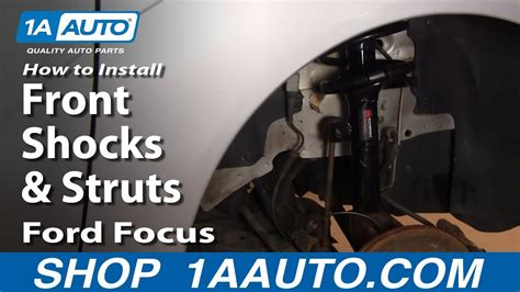 install replace front shocks struts ford focus