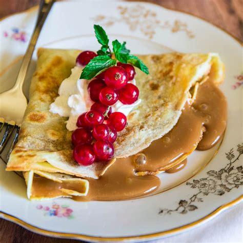 Dulce de Leche Crepes - Olivia's Cuisine