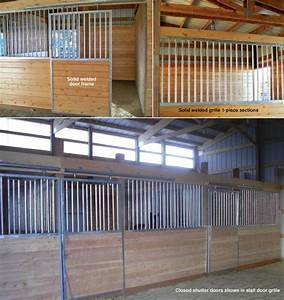 horse stall kit modular horse stall kits by triton barn With 2 stall horse barn kits