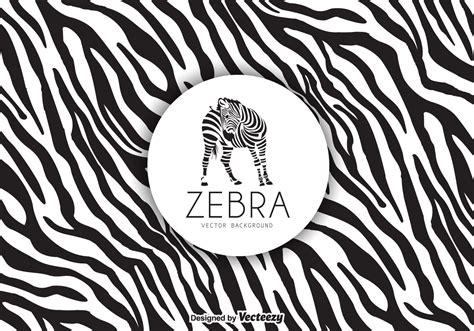 Zebra Print Background Zebra Print Background Vector Free Vector