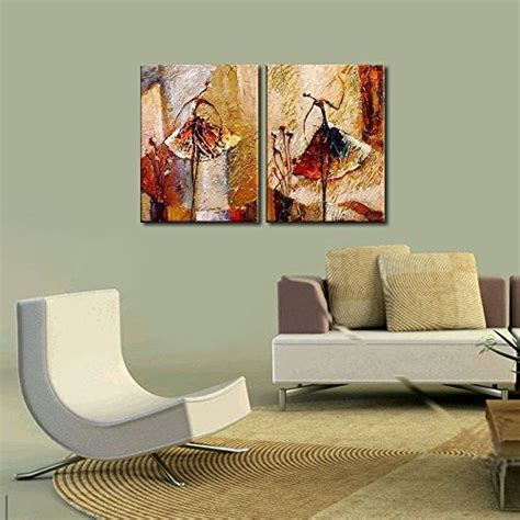 wieco ballet dancers 2 modern decorative artwork 100 painted contemporary