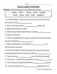 Beginning And Ending Sounds Worksheets For Kindergarten Silent Letters Worksheets Teaching