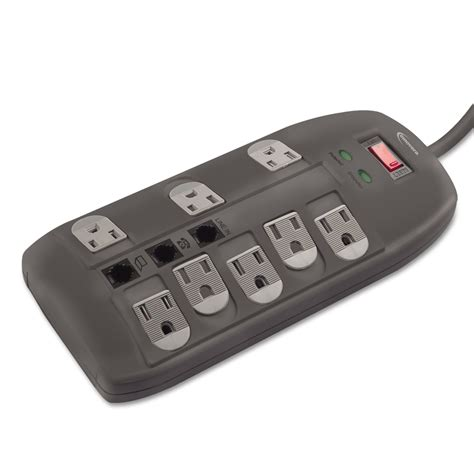 surge protector joules cord outlets ft 2160 innovera dsl tel walmart master ea quantity rated samsclub