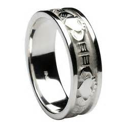 mens wedding bands silver 39 s sterling silver celtic wedding rings