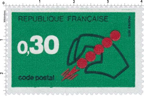 timbre 1972 code postal wikitimbres