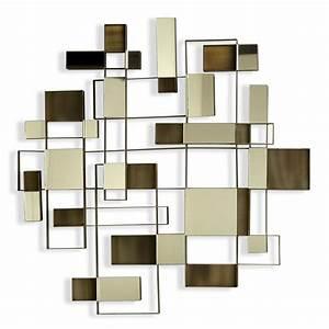 nova angles wall art mirror 11827 With mirror wall art