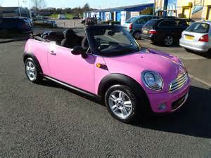 pink convertible cars pink mini 360 auto design