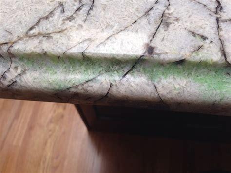 my granite is turning green
