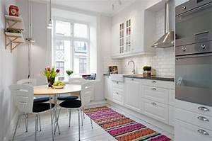 Teppich Für Essbereich : k chenteppich und teppichl ufer designs inspirierende ideen ~ Michelbontemps.com Haus und Dekorationen