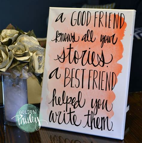 for best friend quote best 25 best friend canvas ideas on best Canvas