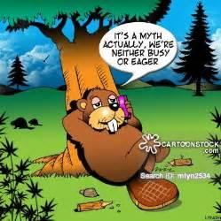 Busy Beaver Cartoon