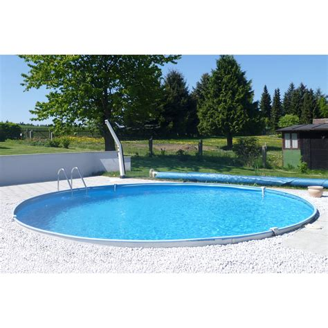 pool 350 x 120 summer stahlwand pool set baja einbaubecken 216 350 cm x