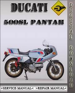 1979 Ducati 500sl Pantah Factory Service Repair Manual Service Manual Repair Manual Pantah