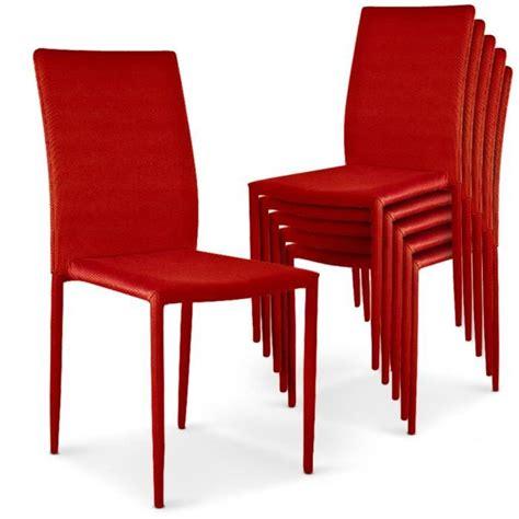6 chaises pas cher lot de 6 chaises empilables modan achat vente