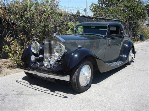 1935 Rolls Royce Phantom by 1935 Rolls Royce Phantom Ii Coupe