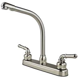 rv kitchen faucet parts rv mobile home high rise kitchen sink faucet travel trailer stainless finish ebay