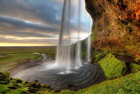 The Wondrous Waterfall Of Seljalandsfoss