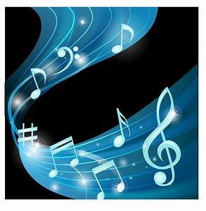 Notes music background Free Vector / 4Vector