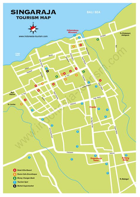 bali map detailed map  bali indonesia bali guide map