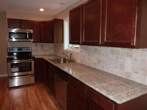 lazy granite tile for kitchen countertops customer installed lazy tile and corner pieces in 9679