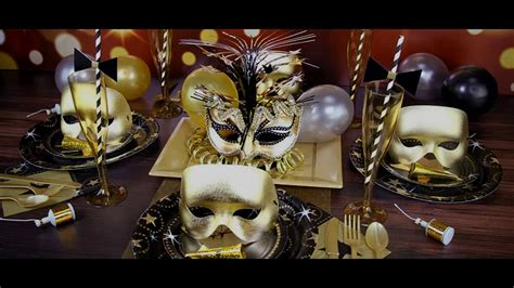 masquerade themed decorating ideas