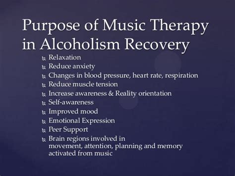 therapy   alcohol revovery program