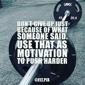 Don't let t... Workout Haters Quotes