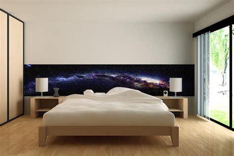 papier peint chambre galaxie izoa