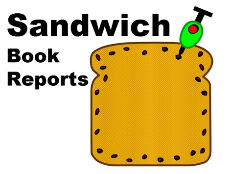 sandwich book report set  files documents  forms