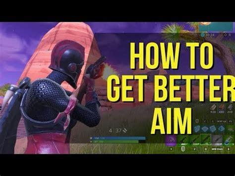 aim  fortnite fortnite tips