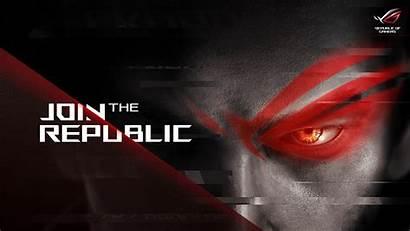 Rog Asus 4k Gaming Republic Gamers Wallpapers