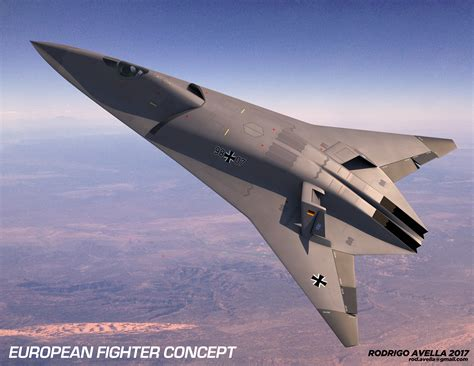 European Sixthgeneration Concept Fighter Aircraft On Behance