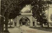 Entrance Riverside Cemetery Lewiston, ME