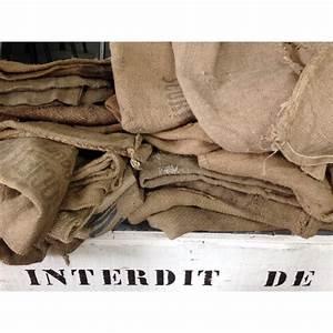 Sac Toile De Jute : sac en toile de jute vintage d 39 occasion selency ~ Dailycaller-alerts.com Idées de Décoration
