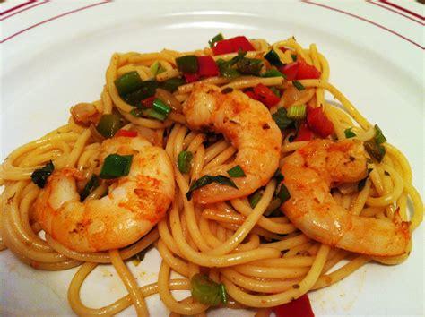 recette cuisine italienne spaghettis aux scis et aux 2 poivrons envie de cuisiner