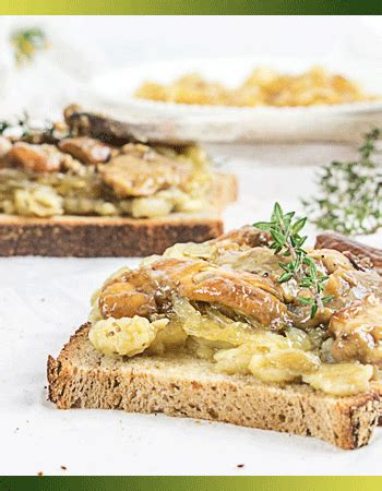 cuisiner coulemelle jcmp recette bruschetta aux chignons et caviar d