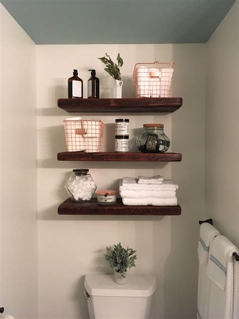 bathroom shelf decorating ideas the wire baskets home and decoration in 2019
