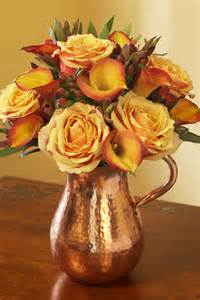 Simple Fall Flower Arrangements Centerpieces