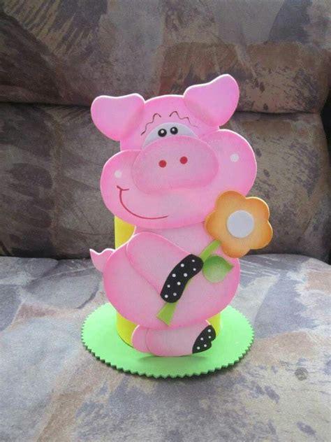 moldes cerditos en foami cerdo en foami imagui molde para crear cerditos moldes animalitos