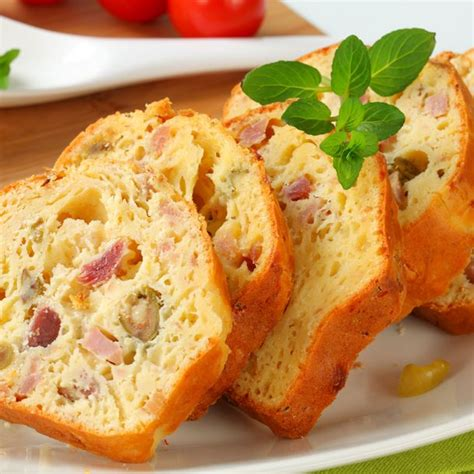 cuisine sans gluten recette cake au jambon et olives facile rapide
