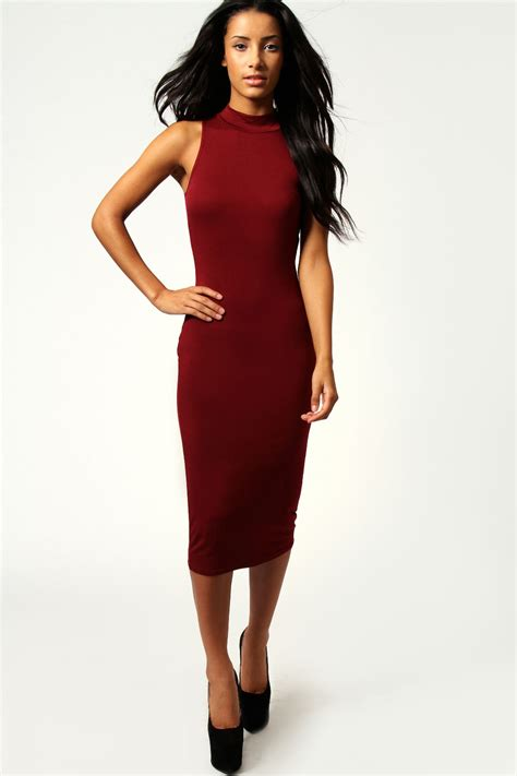 bodycon midi dress picture collection dressed  girl