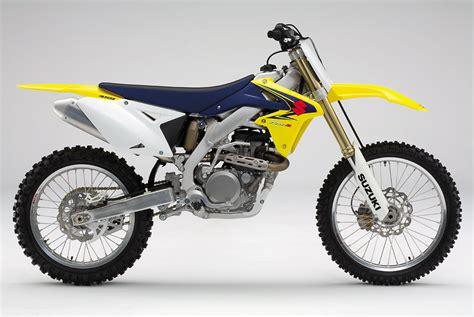 Suzuki 450 Dirt Bike by 2008 Suzuki Rm Z450 Reviews Comparisons Specs