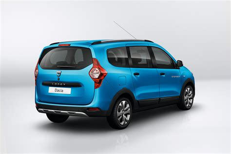 renault dacia dacia unveils new stepway versions of lodgy and dokker