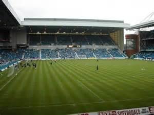 Ibrox Stadium Glasgow Rangers