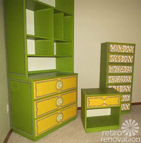 Drexel Heritage Bedroom Set flower power 1960s drexel plus one bedroom set retro