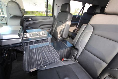 office for mobile luxury suburban suv mobile office