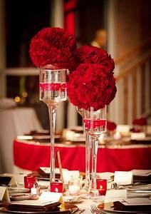centros de mesa en color rojo 18 ideas para fiestas de