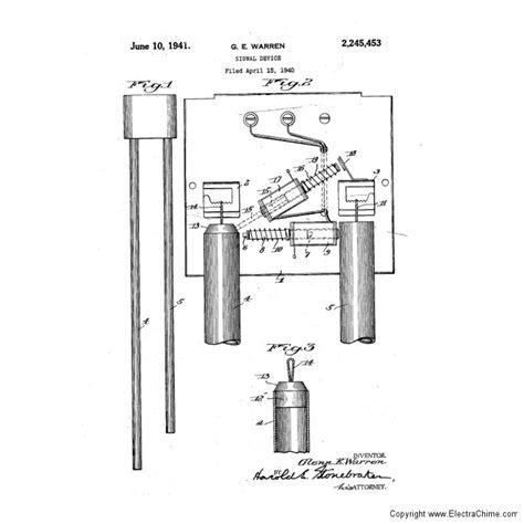 Rittenhouse Washington Tubular Doorbell The