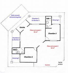 plan de maison hacienda With wonderful plan maison 3d gratuit 15 maison de ville avec patio