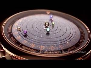 Planetarium Watch Costs 245,000 USD And Mimics The Solar ...